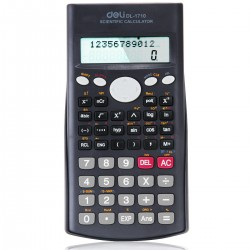 LEC CALCULATOR STIINTIFIC DELI 12 DIGITS  DLE1710