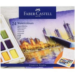LEC ACUARELE FABER-CASTELL CREATIVE STUDIO 24/SET FC169724