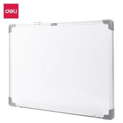 Lec Whiteboard Magnetic 45*60 Cm Deli Rama Aluminiu Dle39032a
