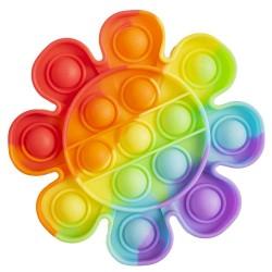Ro Jucarie Senzoriala Antistres Pop It Curcubeu-floare 11