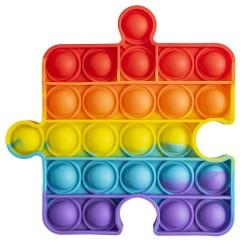 Ro Jucarie Senzoriala Antistres Pop It Curcubeu Puzzle 31559
