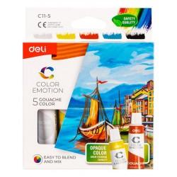 Lec Culori Guase Deli  12/set 12ml Dlec1112