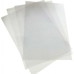 GOL COPERTA PLASTIC A4 TRANSPARENT 150 MICRONO