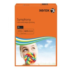 HARTIE COLOR A4 80GR 500/SET XEROX ORANGE