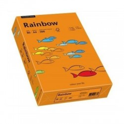 CARTON COLOR A4 160GR 250/SET XEROX RAINBOW ORANGE INTENSIVE