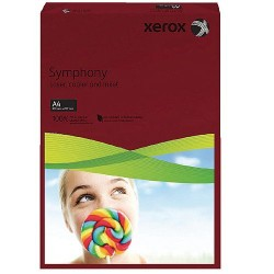 CARTON COLOR A4 160GR 250/SET XEROX DARK RED