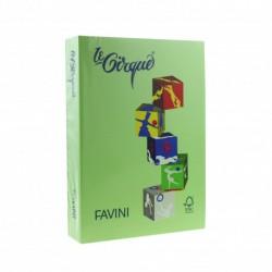 CARTON COLOR A4 160GR 250/SET FAVINI VERDE