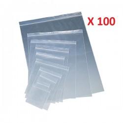 ECZL PUNGI CU FERMOAR 100*150/08 100/SET