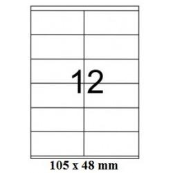 ETICHETE AUTOADEZIVE 12/A4 100/SET