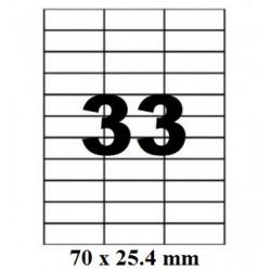 ETICHETE AUTOADEZIVE 33/A4 100/SET