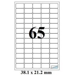ETICHETE AUTOADEZIVE 65/A4 100/SET