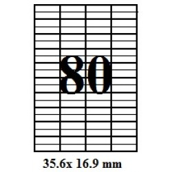 ETICHETE AUTOADEZIVE 80/A4 100/SET