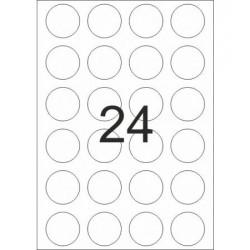 ETICHETE AUTOADEZIVE BULINE 24/A4 100/SET