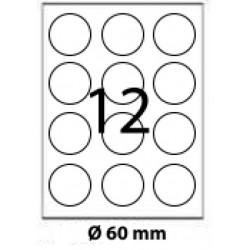 ETICHETE AUTOADEZIVE BULINE 12/A4 100/SET