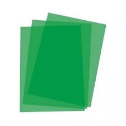COPERTA PLASTIC A4 VERDE 150 MICRONO