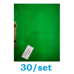 DOSAR INCOPCIAT CARTON 1/1 GOLD 30/SET VERDE INTENS