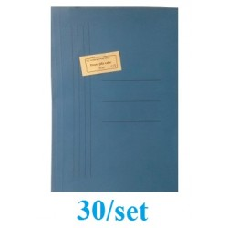 DOSAR PLIC CARTON GOLD 30/SET ALBASTRU INTENS