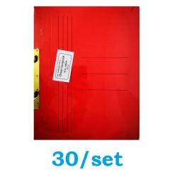 DOSAR INCOPCIAT CARTON 1/1 GOLD 30/SET ROSU