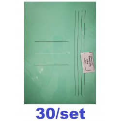 DOSAR PLIC CARTON GOLD 30/SET VERDE PASTEL