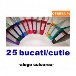 BIBLIORAFT PLASTIFIAT 5 CM SMART 25 BUCATI/CUTIE