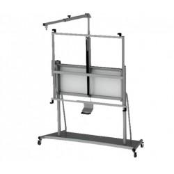 Stand mobil Bi-Silque pentru tabla interactiva, 206 x 264 x 42 cm