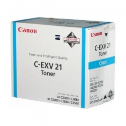 TONER CANON C-EXV21C ORIGINAL CYAN C2380I 14000PAG