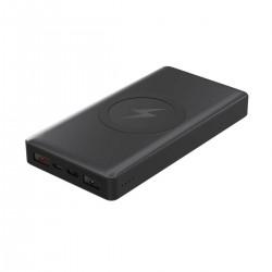 Acumulator extern Qi wireless Platinet 44570, 10000mAh Quick Charge USB tip C PMPB10WCB