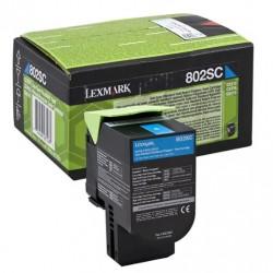 TONER LEXMARK 80C2SC0 CYAN 802SC ORIGINAL