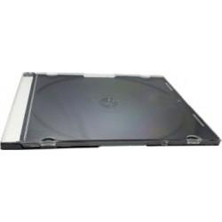 TEC CARCASA CD 1 SLIM ALB/NEGRU  44843/SLCZPL