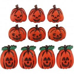 Cc Accesorii Decor Dovleac Halloween 10/set 40339