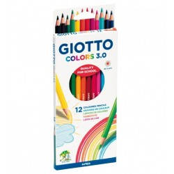 FIL CREIOANE COLOR GIOTTO COLORS 3.0 276600 12/SET
