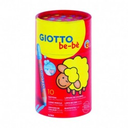 FIL CREIOANE COLORATE GIOTTO BEBE 10/SET 479400