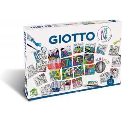FIL SET CREATIV GIOTTO COLOR SI PUZZLE ART LAB 581800