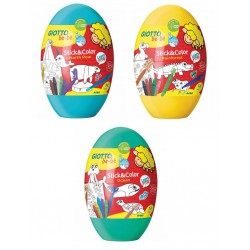 FIL SET DESEN GIOTTO BEBE Stick & Color Egg OU 472700