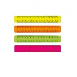 Ard Rigla 15cm Plastic Culori Neon 282fl