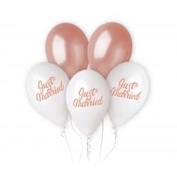 God Baloane Premium Helium Ballons, Just Marries, 33cm, 5/set Gms120/jmr