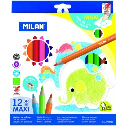 ADA CREIOANE COLORATE 12/SET MAXI HEXAGONALE MILAN 0722412