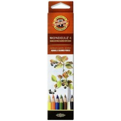 KOH CREIOANE COLOR AQUARELL MONDELUZ K3715-6 6/SET