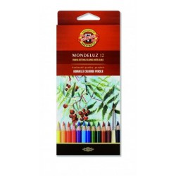 KOH CREIOANE COLOR AQUARELL MONDELUZ 12/SET K3716-12