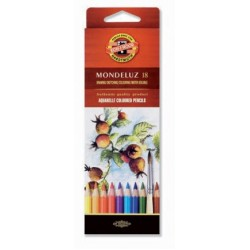 KOH CREIOANE COLOR AQUARELL MONDULEZ 18/SET K3717-18