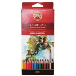 KOH CREIOANE COLOR AQUARELL MONDULEZ 24/SET K3718-24