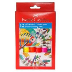 LEC TEMPERA FABER CASTELL 12/SET FC121015