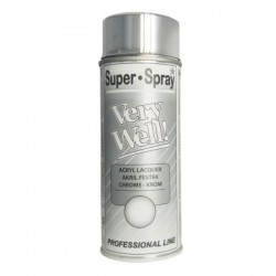 TEM SPRAY ACRIL VERY WELL 400ML CHROME 0020/380052