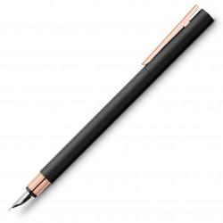 LEC STILOU FABER CASTELL NEO SLIM M BLACK ROSEGOLD FC343100