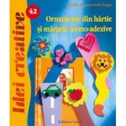 ED ORNAMENTE DIN HARTIE SI MARGELE TERMO-ADEZIVE 062