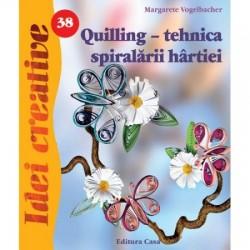 Ed Carte Quilling-tehnica Spiralarii Hartiei 38